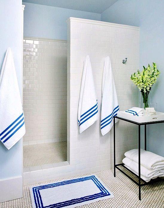 doorless master bathroom shower for kid friendly master bathroom