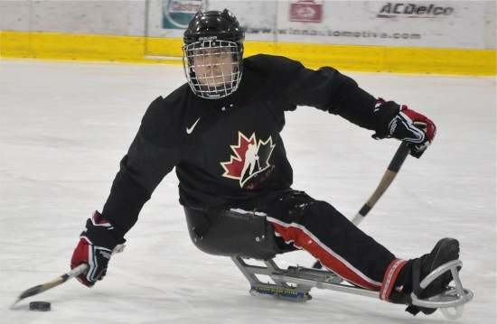 olympic sledge hockey - these guys are all heroes