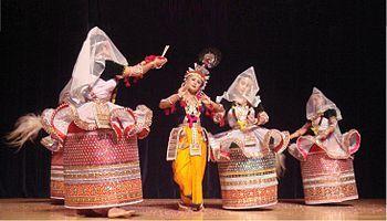 Rasa lila - Manipuri Dance style