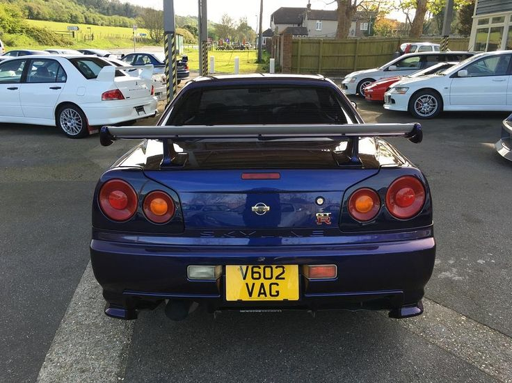 Used 1999 Nissan Skyline R34 for sale in Kent   Pistonheads