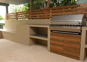 An interesting prefab concrete alternative to brick for retaining walls, fences, built in outdoor kitchens etc.
