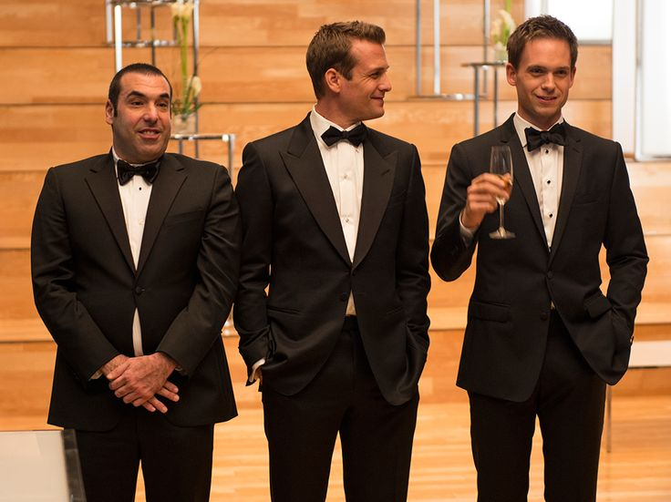My three favorite men on SUITS - USA Network