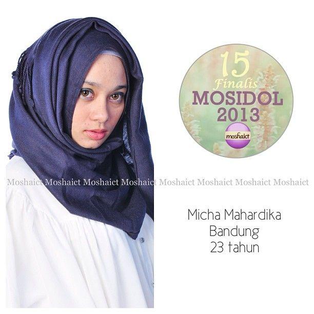 Micha Mahardika : 15 besar MosIdol 2013 #MosIdol2013 #moshaict #hijab #fashion #fashionhijab #islamicfashion | www.moshaict.com