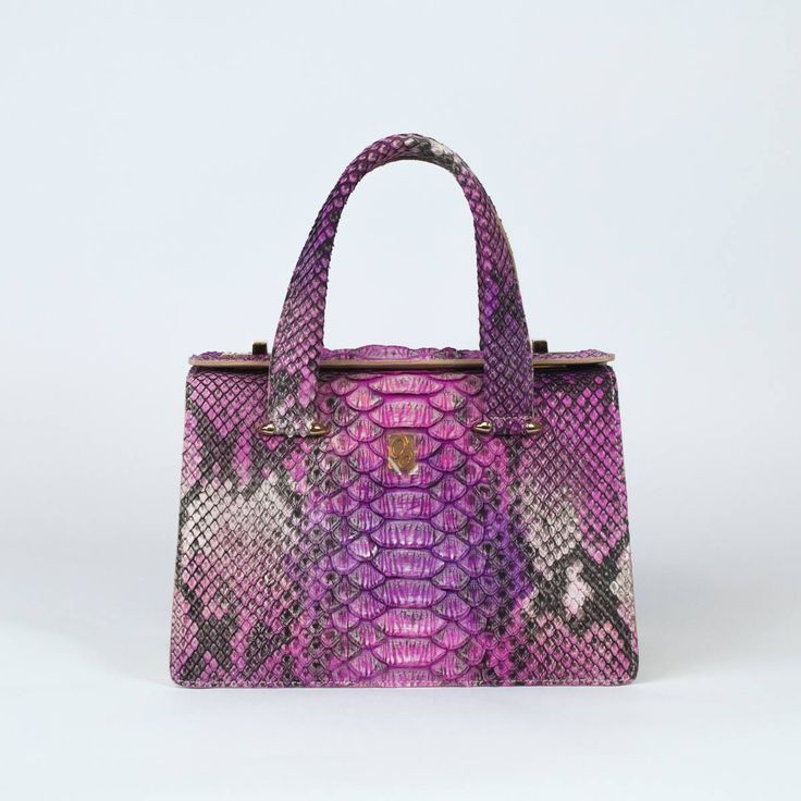 Dalia – mini bag in giant python
