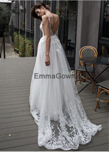 85e77577343 Emmagown Beach Wedding Dresses T801525319935
