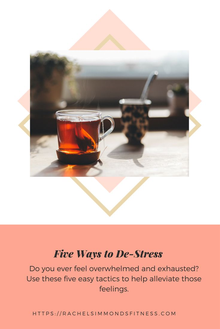 These are the five things I do to get rid of stress.