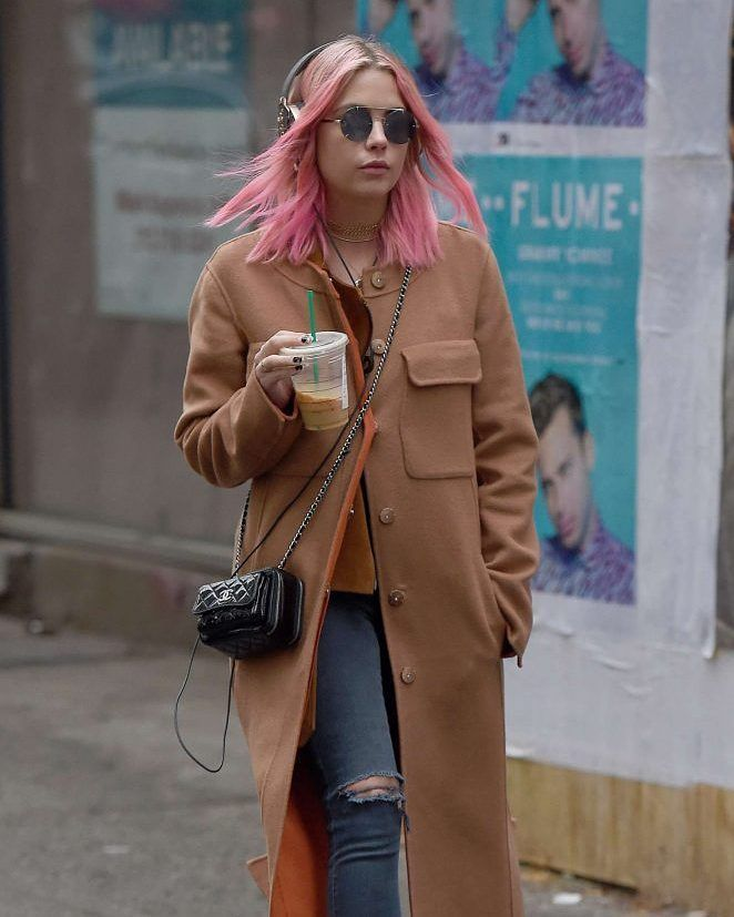 Ashley Benson in a beige coat while listening to music in New York #wwceleb #ff #instafollow #l4l #TagsForLikes #HashTags #belike #bestoftheday #celebre #celebrities #celebritiesofinstagram #followme #followback #love #instagood #photooftheday #celebritieswelove #celebrity #famous #hollywood #likes #models #picoftheday #star #style #superstar #instago #ashleybenson