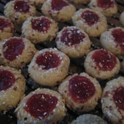 """Austrian Jam Cookies - """"This recipe belonged to my mother. It is one the many cookies from her Christmas cookie collection."""" — Carol"""
