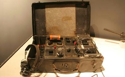 The British Special Operations Executive (SOE) & the American Office of Strategic Services (OSS) intelligence agencies both parachuted agents into occupied Europe to gather intelligence and organize resistance forces. The British Type 3 Mark II radio set was compact and capable of being adapted to many power supplies. The whole radio fit neatly into a small suitcase. The suitcase was dropped to agents by parachute. The set sent and received messages in Morse code rather than voice…