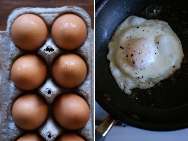 How to fry an egg without having to worry about broken yolks