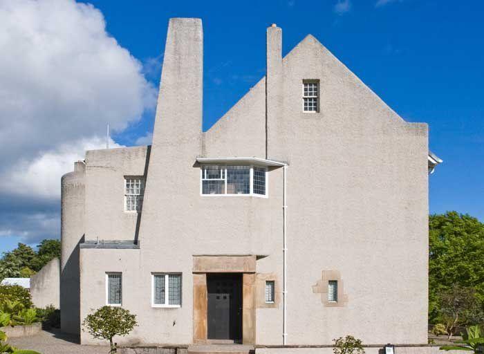 *Charles Rennie Mackintosh Hill House / Charles Rennie Mackintosh, 1902-1904.