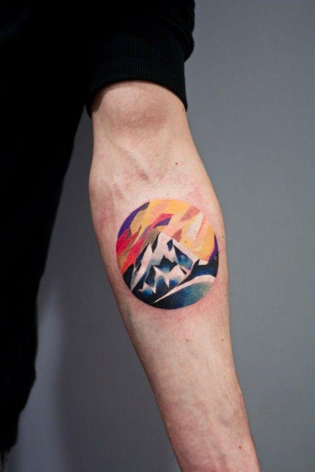 Peaceful Mountain Tattoos Part 1