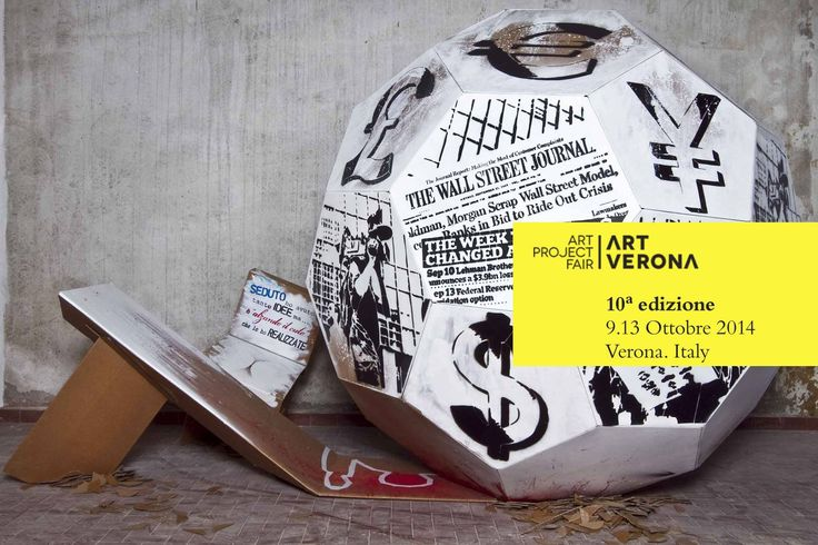 """Art Company presenta """"Bolla di cartone"""" di Mr Save the wall ad Art Verona 2014 > sezione Independents  http://www.artverona.it/premi-eventi-progetti/eventi-e-progetti/independents/"""