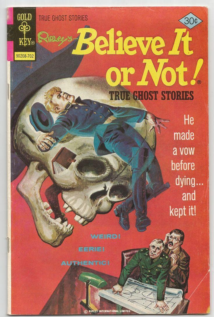 Ripley's Believe it or Not! True Ghost Stories No .68 1977, Antique Alchemy