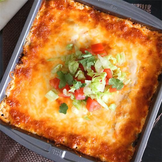 Easy Mushroom and Corn Layered Mexican Bake - #KeepOnCooking
