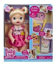 Baby Alive MY Baby ALL Gone Doll Blonde Speaks English French Hasbro 2013 | eBay