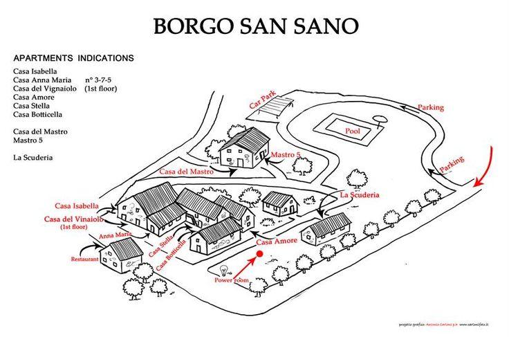 Casa del Mastro - Vakantiehuis in San Sano - Siena - Toscane