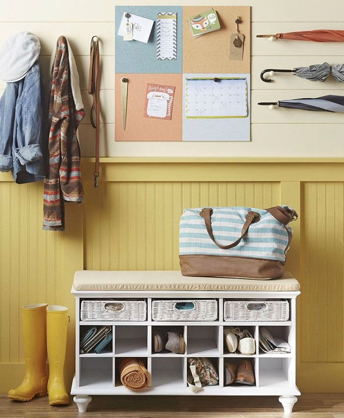 264 best images about get organized on pinterest shelves for Mudroom dimensions