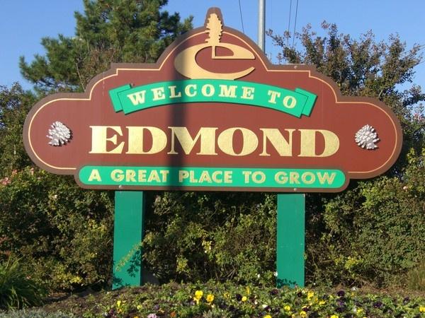 Edmond, OklahomaOklahoma Places, Oklahoma City, Favorite Places, Edmonds Oklahoma, Families Life, Family Life, Street Signs, Real Estate, Gift Cards