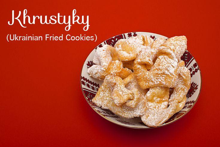 Khrustyky (Ukrainian Fried Cookies)