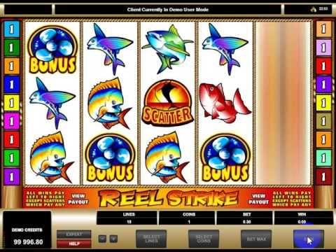 Игровой автомат Reel Strike бесплатно и без смс в онлайн казино Вулкан