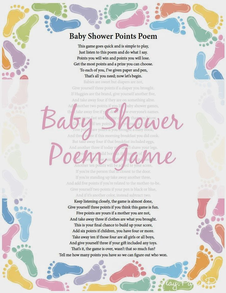 about baby shower poems on pinterest baby showers fun baby shower