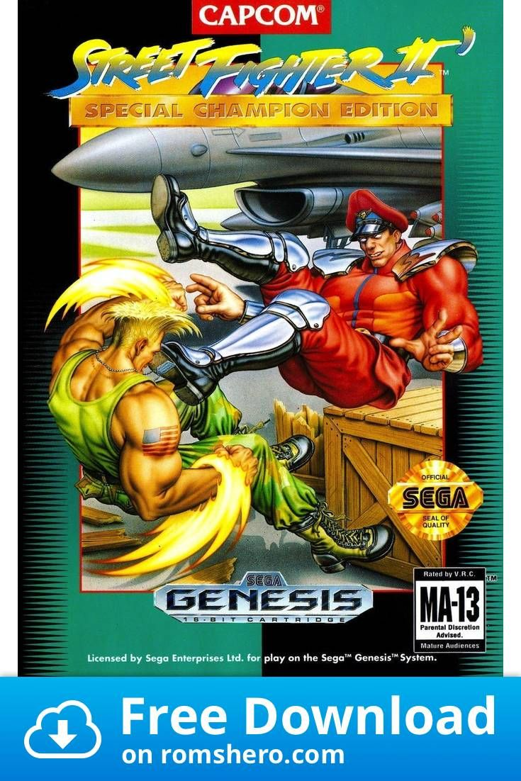 Download Street Fighter 2 Turbo Sega Genesis Sega Mega Drive Rom In 2020 Street Fighter 2 Street Fighter Street Fighter Sega