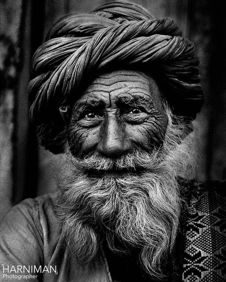 Rajasthan old man portrait