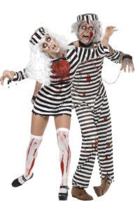 Zombie Convicts Couple Costumes