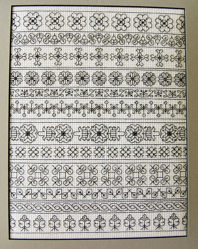 Blackwork Sampler
