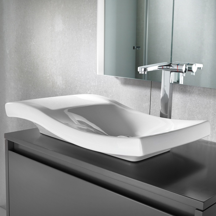 urbi 2 countertop basin by roca - Roca Wash Basin