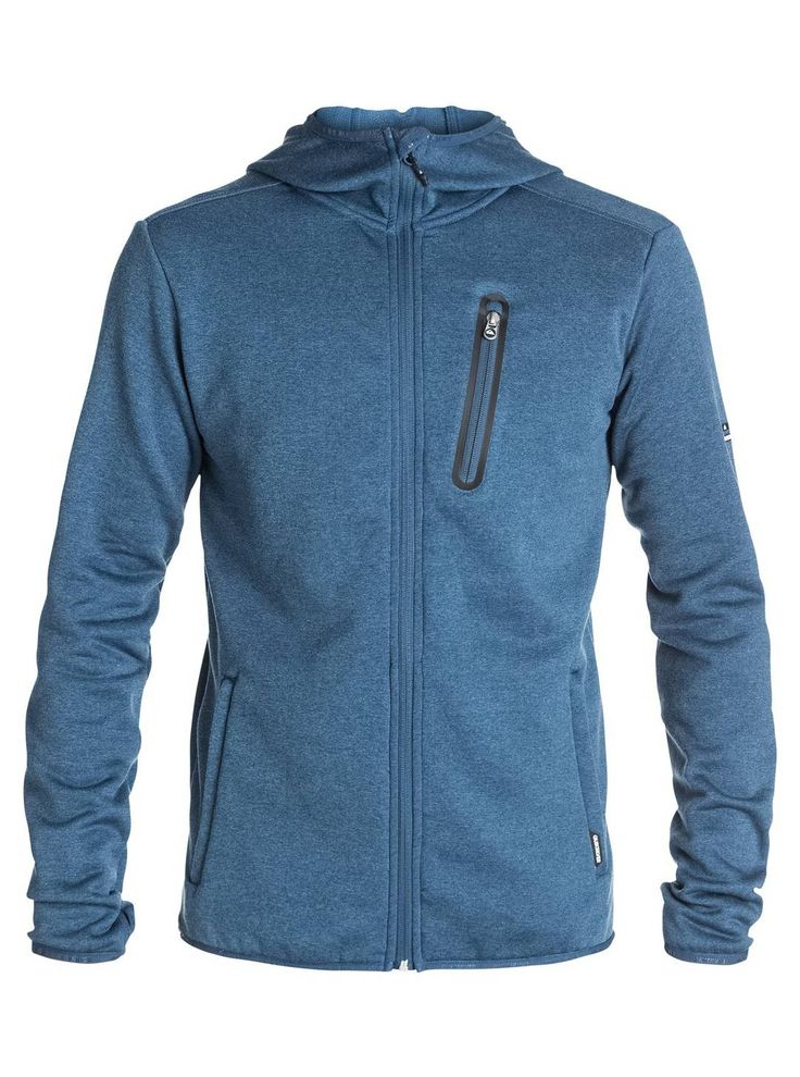 The Preston Zip-Up Fleece is a great mid layer to keep out any chill you may have in the high alpine but not overheat you in spring like conditions. It's also a great looking hoody to wear at après when you've taken your jacket off. Available at Quiksilver.