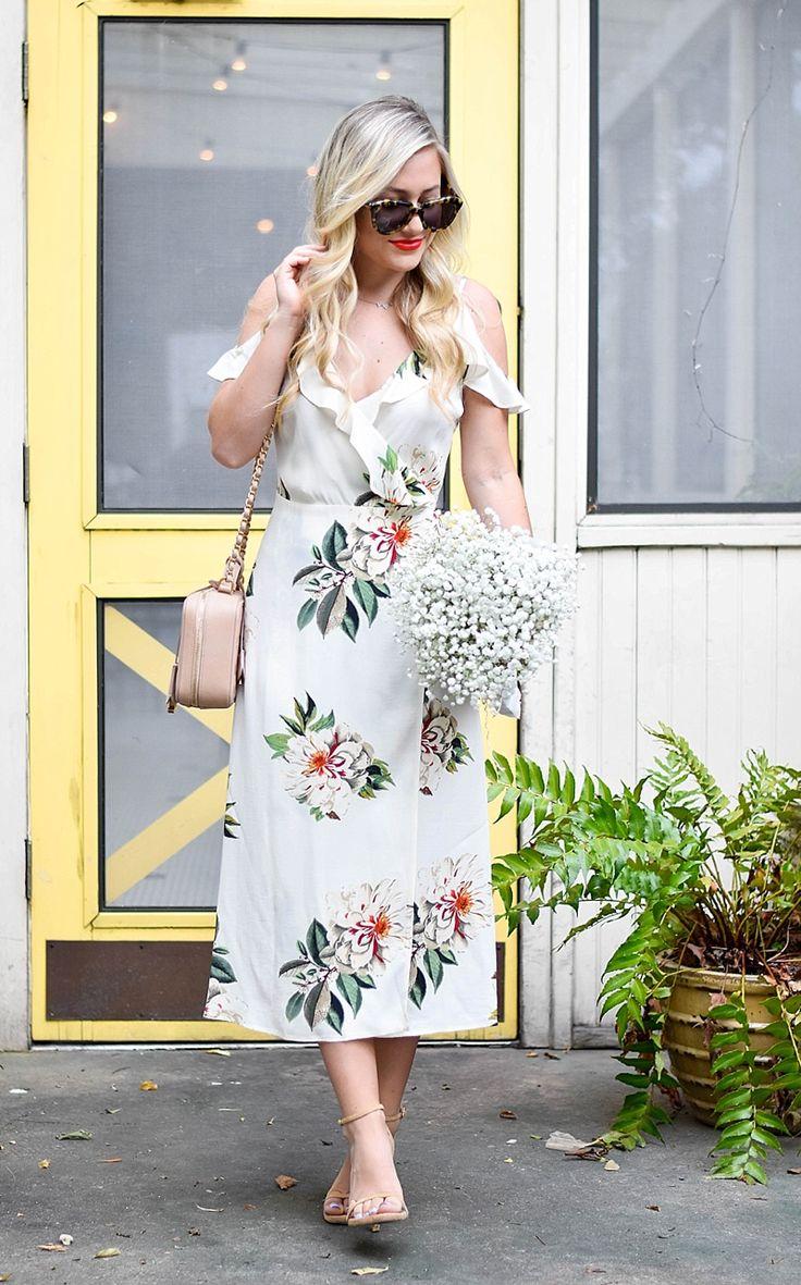 Nordstrom dresses, Nordstrom Topshop, Nordstrom Shoes, Wrap Dress, Floral Dress, Nordstrom Anniversary Sale, Nordstrom Promo Code, Dallas Blogger, Anniversary Sale 2016, Nordstrom locations, Chanel, stuart Weitzman shoes, bridal