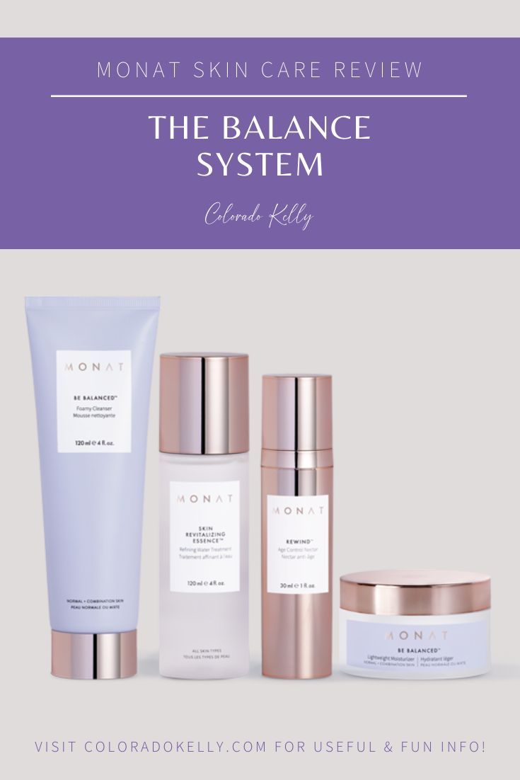 Monat Skincare The Balance System Colorado Kelly Skin Care Vegan Skincare Monat