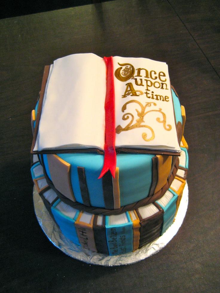 Book Cake  www.keep-it-sweet.com