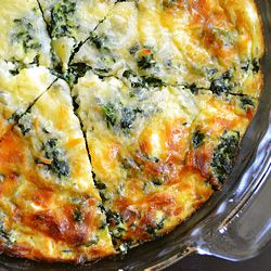Breakfast, lunch, or dinner, this crustless quiche is a winner!