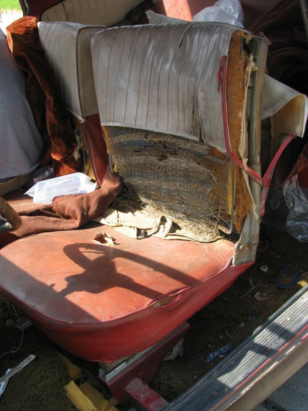 How to Reupholster a Car Seat