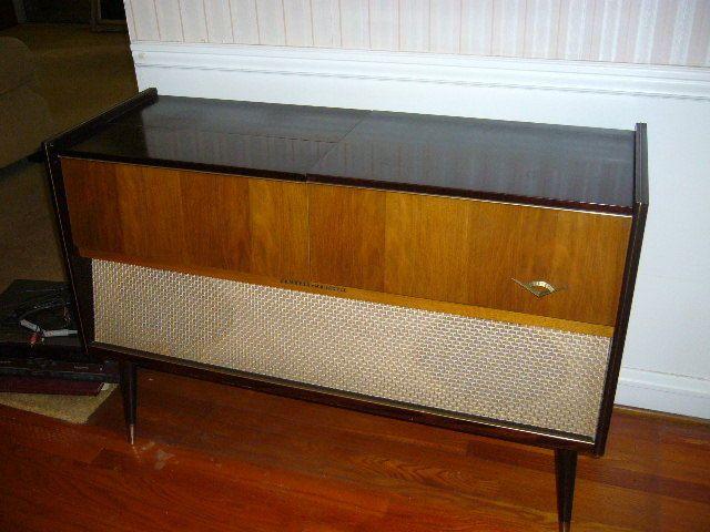 1950s Grundig Majestic SO132 Mid Century Stereo Console Record ...