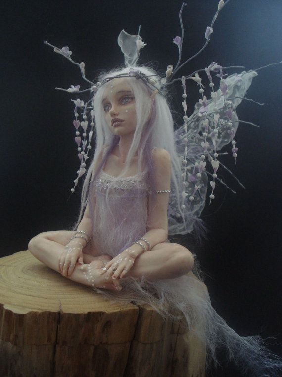 SHADOWSCULPT OOAK IADR realistic fairy