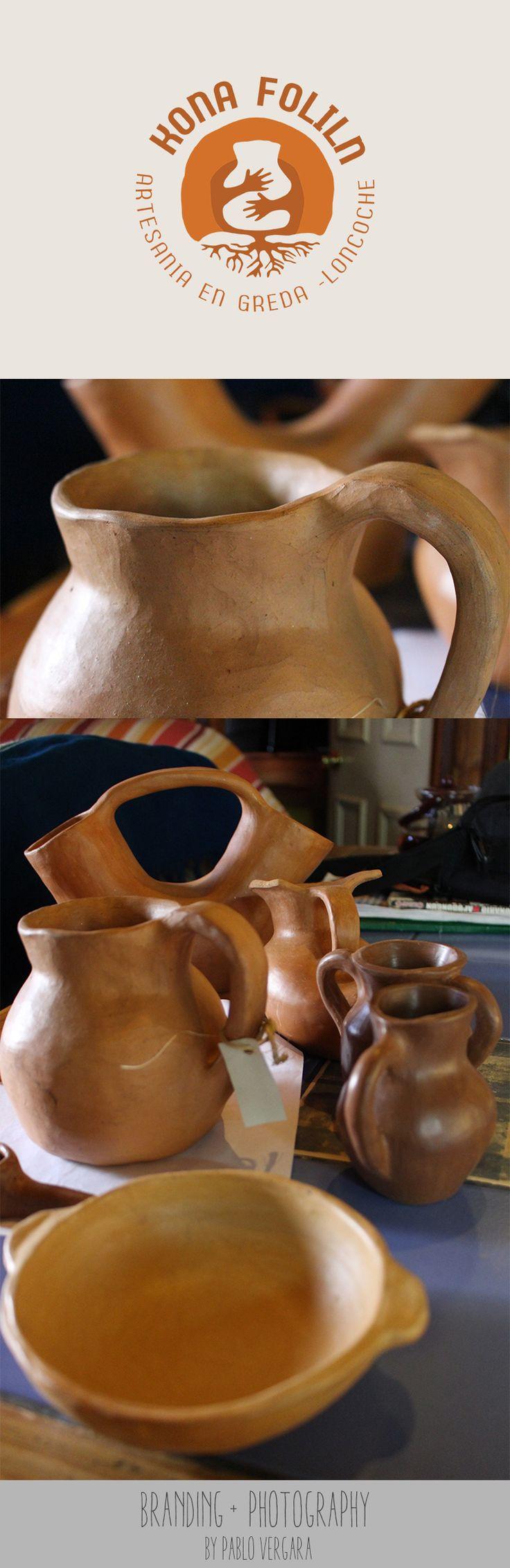 Banding Kona Foliln (Reproducciones Arqueológicas en Greda) Loncoche - Chile. By Pablo Vergara 2016