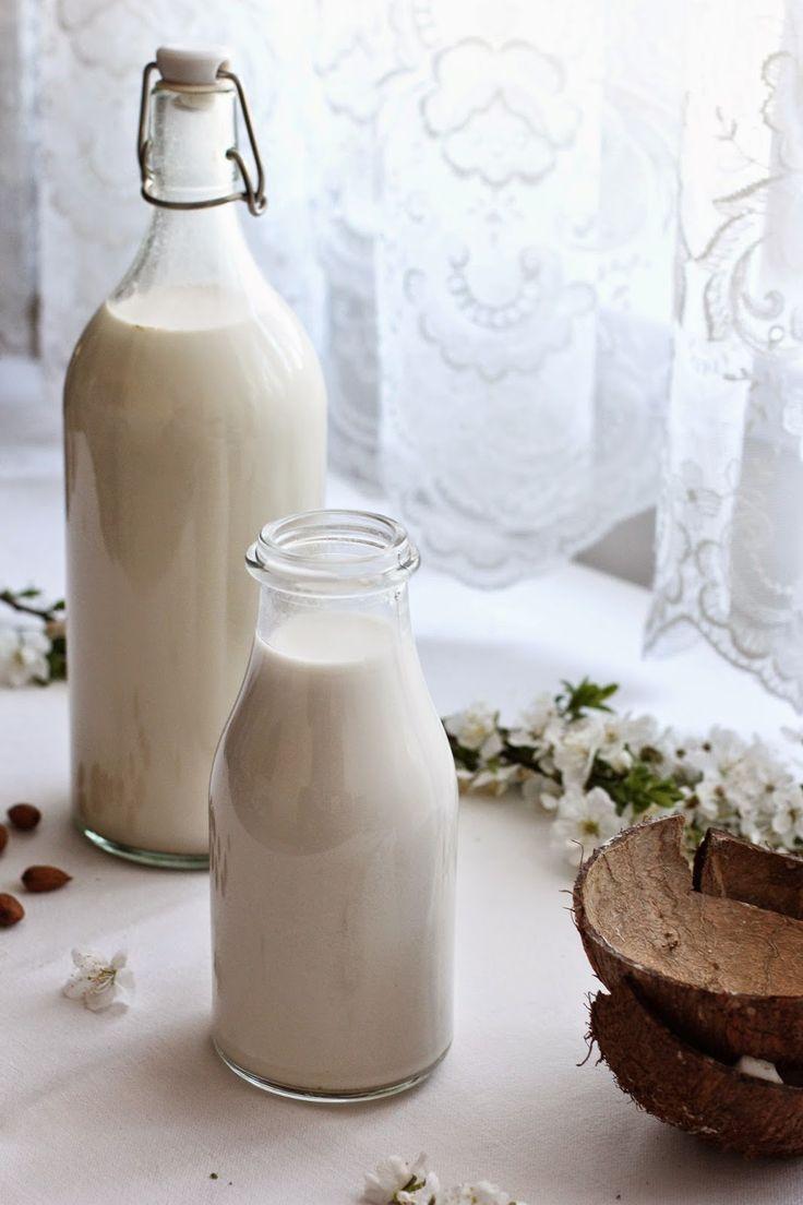 Cherries on Top: Mandlové a kokosové mléko, jak je dělám já