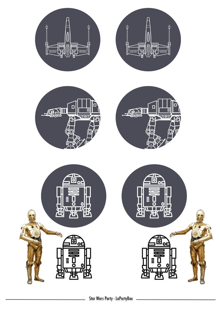 Toppers et décor A télécharger et à imprimer : des petits robots sympa pour personnaliser les gobelets de la soirée et mettre des personnages sur les gâteaux, plats etc… Pour les gobelets, je les ai pris chez My little Day, ils en ont pas mal de sympa avec des motifs ! Ils ont aussi une petite sélection Star Wars pas mal du tout. Les ballons mylar gonflés à l'hélium serait top au dessus de la table de fête ! A TELECHARGER PAR ICI ! PEW PEW PEWWWW ! – Commentaires