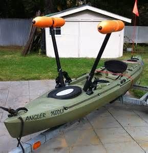 17 best images about kayak diy ideas on pinterest for Kayak fishing accessories