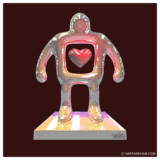 #Heart #Robot #LOVE