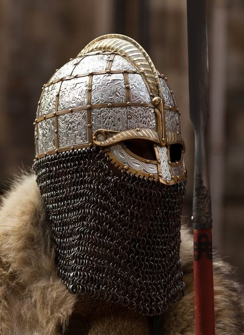 vendelviking helmet swedish iron age pinterest