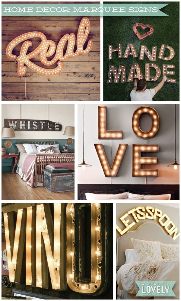 Wouldn T It Be Lovely Home Decor Marquee Signs