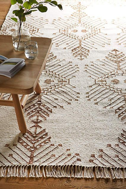 Pattern inspiration - Glass stitch rug from Anthropologie.