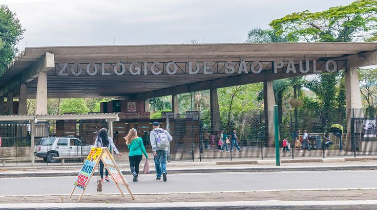 São Paulo Zoo facade - Parque Zoológico de São Paulo – Wikipédia, a enciclopédia livre