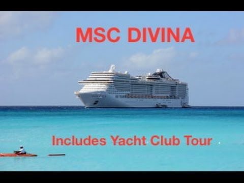 MSC Divina, With Tour of Yacht Club