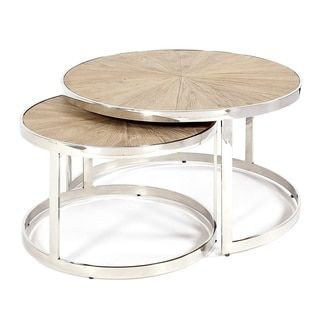 Shop for Oscar Nesting Cocktail Tables (Set of 2). Get free shipping at Overstock.com - Your Online Furniture Outlet Store! Get 5% in rewards with Club O!